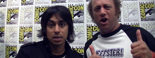 Vik Sahay and Scott Krinsky (Jeffster) Chuck comic con image.jpg