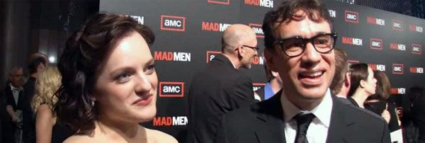 Elisabeth Moss and Fred Armisen Mad Men season 3 premiere event.jpg