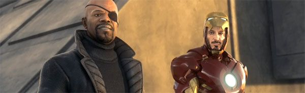 Iron Man 2 video game image Tony Stark and Nick Fury.jpg
