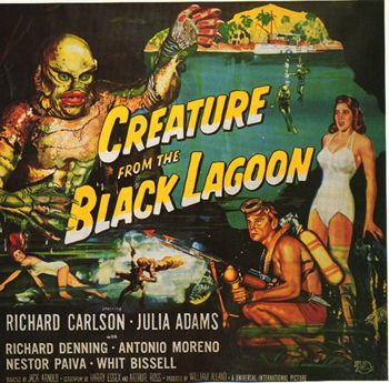 MovieScreams,Horror,the_creature_from_the_black_lagoon_movie_poster