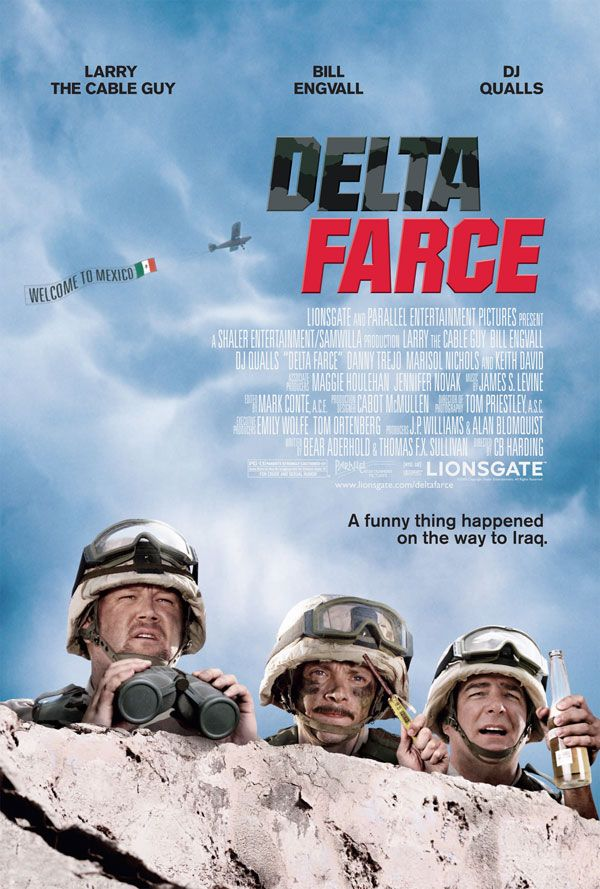 The Delta Force movies in France