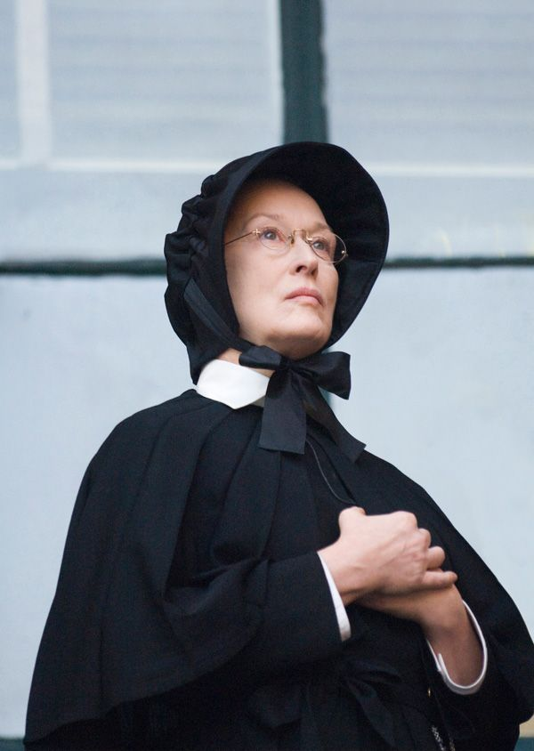 The mistakes of sister aloysius in the movie doubt