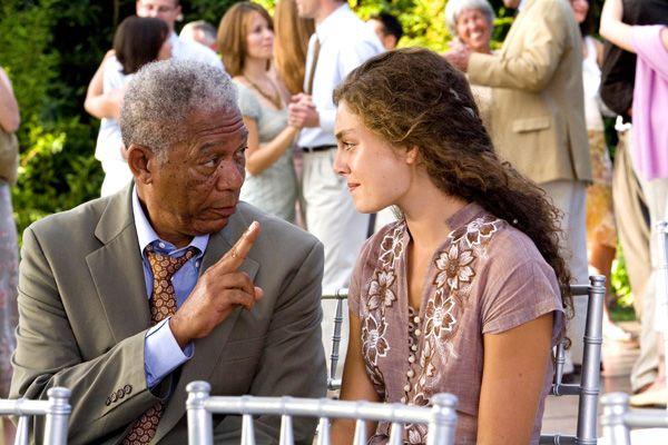 Morgan Freeman Interview Feast Of Love Collider Collider