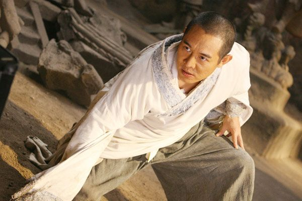 Forbidden Kingdom Jet Li as the Silent Monk