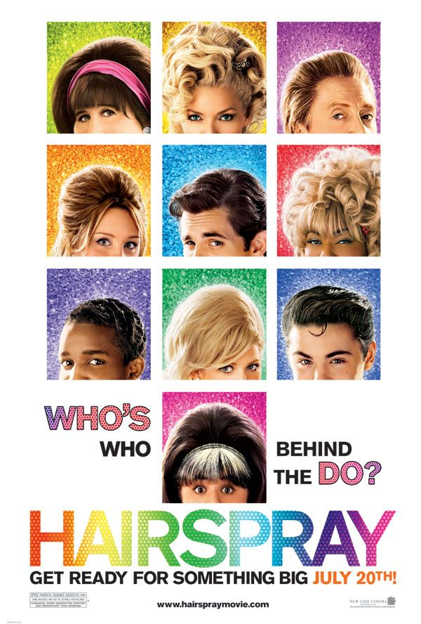"Hairspray Musical Poster. version of ""Hairspray,"""