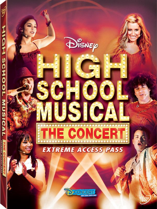 High School Musical DVD 4