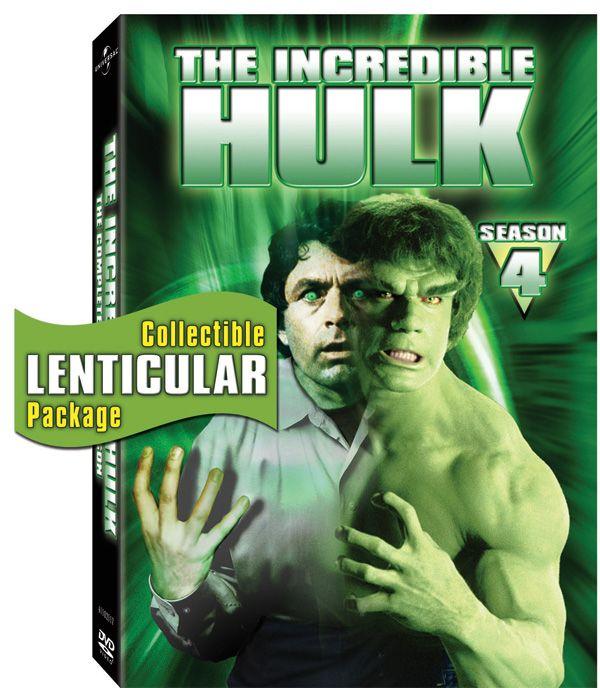 THE INCREDIBLE HULK Season Four DVD Review