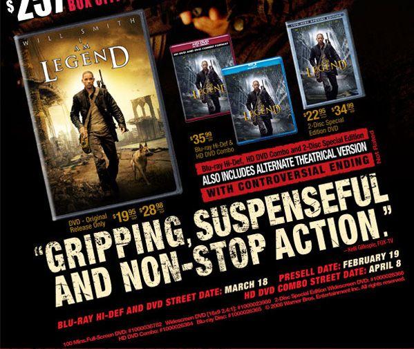 I am legend 2 release date in Perth