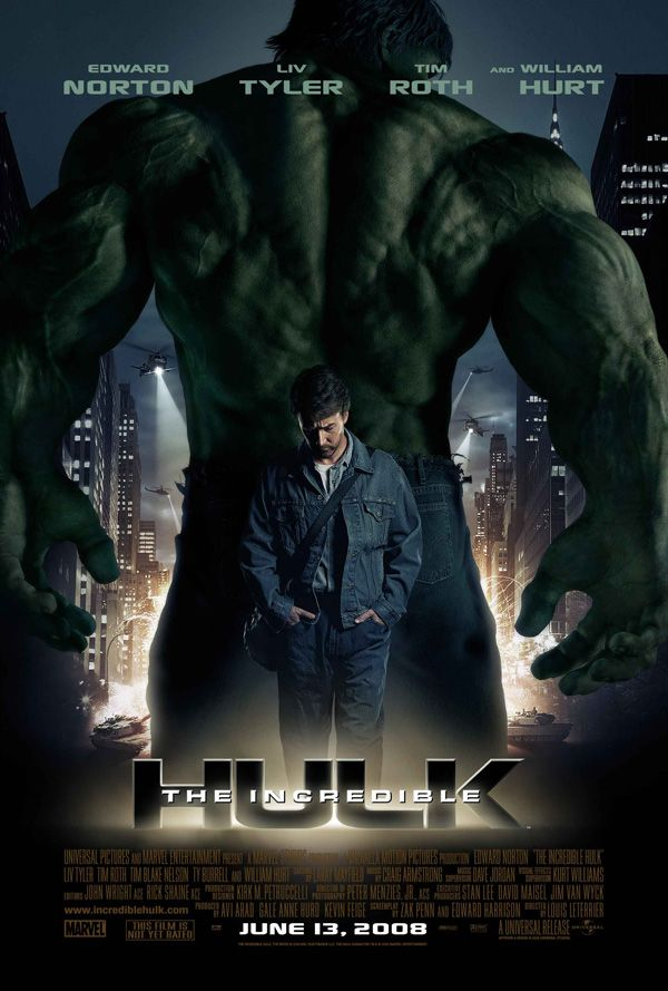 the incredible hulk � 6 movie clips and 3 tv spots