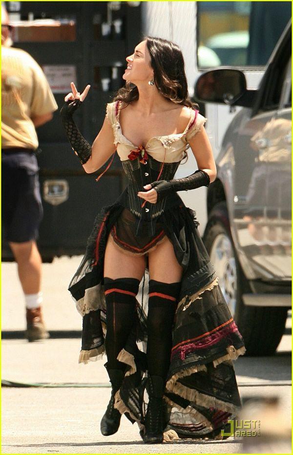 'Megan Fox' Plus 'Corset'