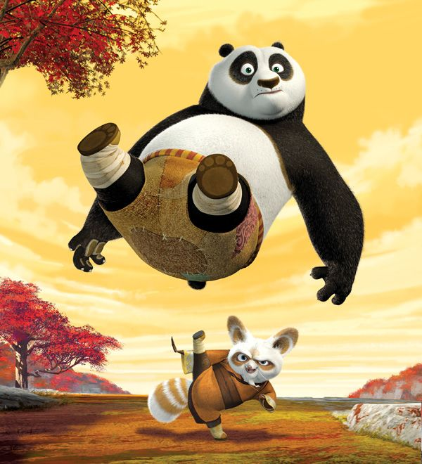 Kung Fu Panda Anime Picture