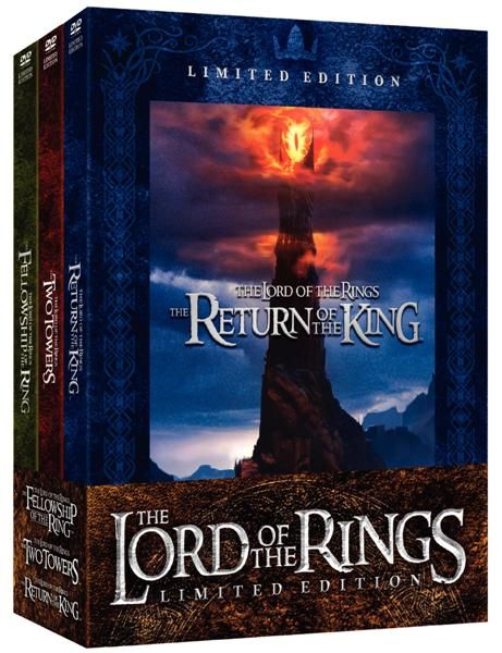 lord of the rings blu ray  extended edition