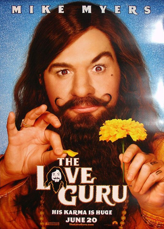 "love guru movie review Home entertainment movie reviews film review: the love guru  mike myers  serves up sophomoric mess as ""the love guru."