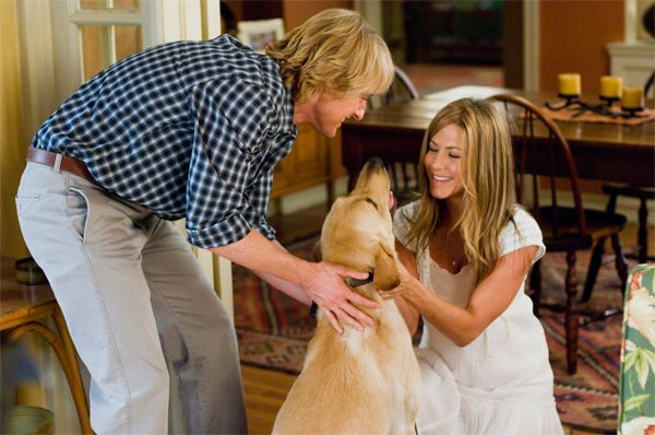 marley and me dvd. MARLEY AND ME Blu-Ray Review
