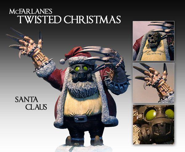 Ryan Photographs The Mcfarlane Toys Twisted Christmas Figures
