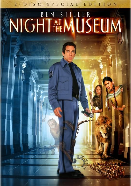night at the museum 2 disc special edition dvd  large  - Night At The Museum