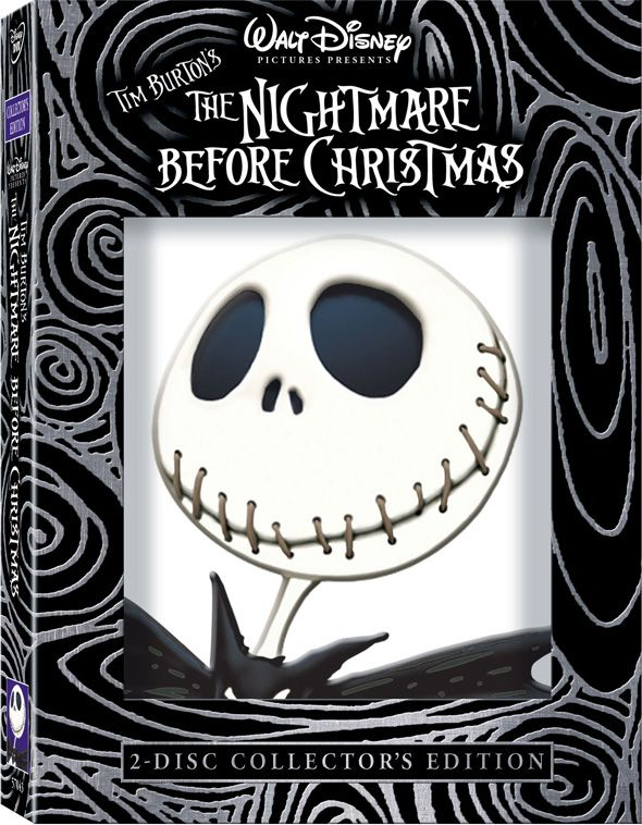 Tim Burton's THE NIGHTMARE BEFORE CHRISTMAS 2-disc Collector's ...