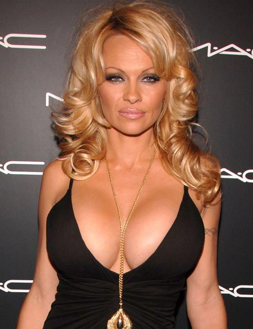 pamela anderson. Pamela Anderson announced on