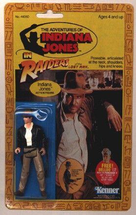 Image of Indiana Jones Action Figures