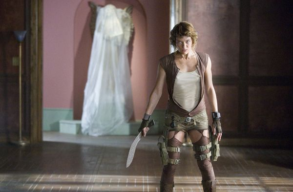 Milla Jovovich resident evil extinction