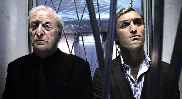 Image result for jude law sir michael caine sleuth