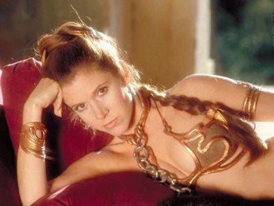 princess leia bikini. thing for Slave Leia,
