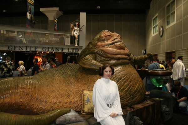 life size Jabba the Hut…