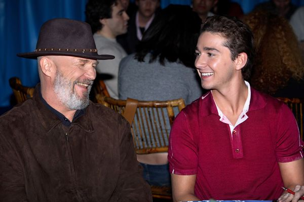 shia labeouf movies. Jeff Bridges and Shia LaBeouf