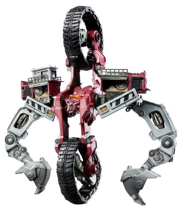 [Bionicle] Le masque de Gavla ou Jaller sur un Decepticon Demolishor__robot_