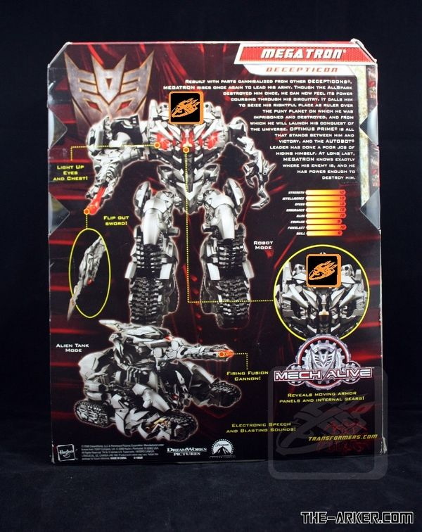 TRANSFORMERS: REVENGE OF THE FALLEN Megatron Toy Revealed