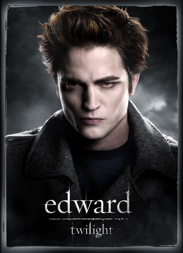 twilight movie poster character one sheet edward Robert Pattinson From @Twilight Hates His Hair — And Wants To Cut It All Off