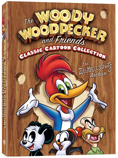 The Woody Woodpecker And Friends Classic Cartoon Collection DVD