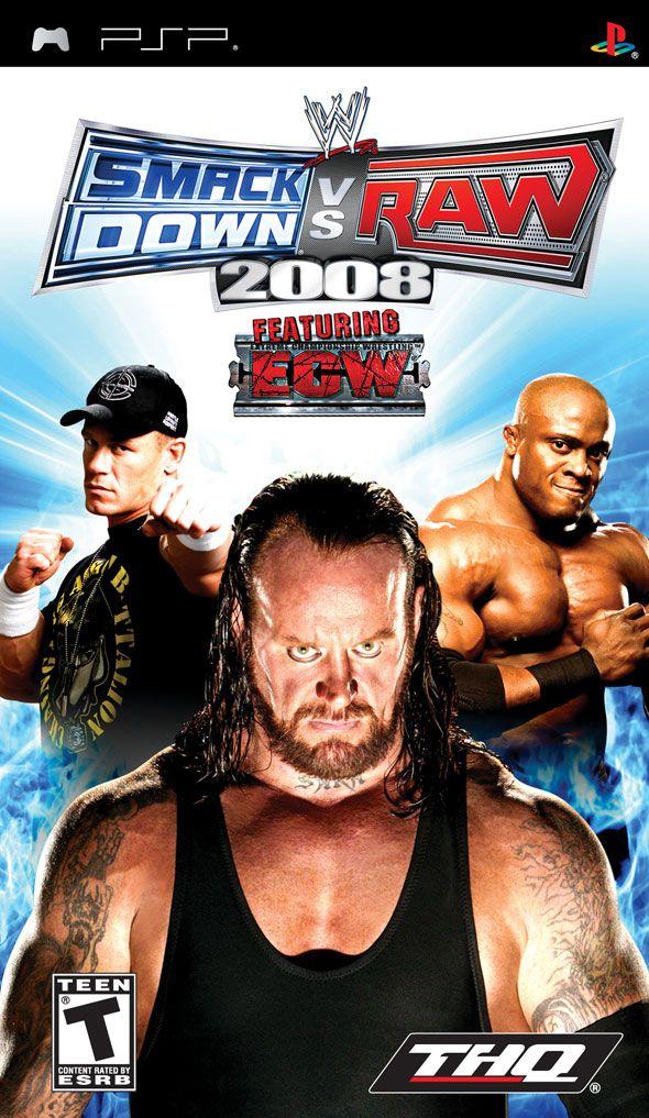 لعبة|pc| WWE Raw 2008 | لعبة المصارعة كاملة بحجم 75 ميجا رابط واحد شغال 100%  Wwe_smack_down_vs_raw_2008_psp