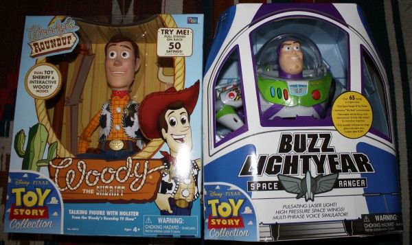 Disney/Pixar Definitive Collection Buzz Lightyear and Woody (set)