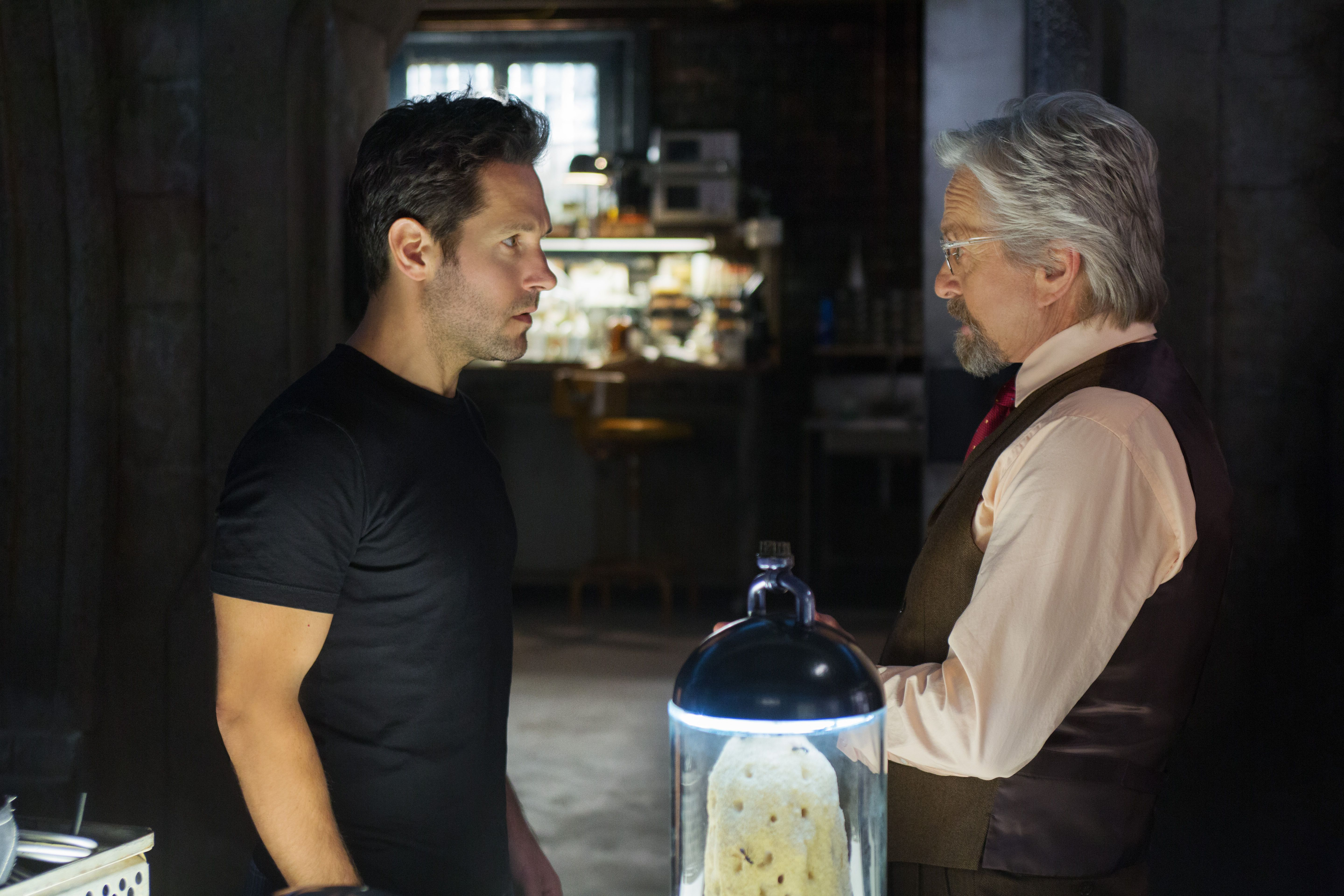 So he begrudgingly took to facebook to sell the suit and also decided - Ant Man Paul Rudd Michael Douglas