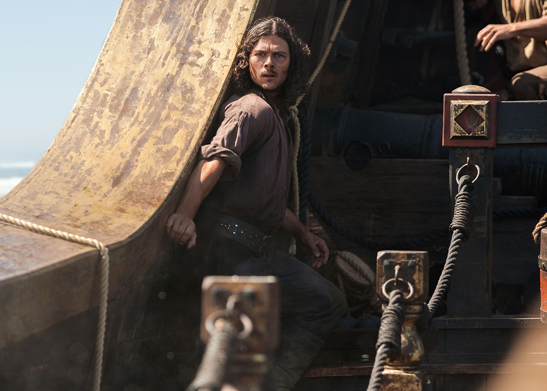 Black Sails'- star Ray Stevenson didn'-t choose acting