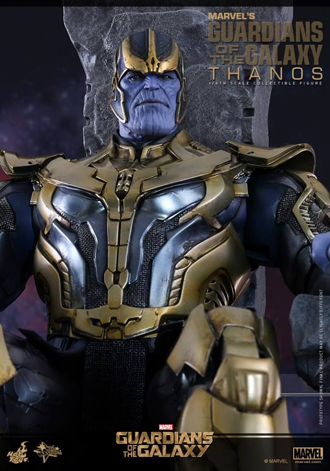 Hot Toys Thanos Guardians Of The Galaxy Figure From