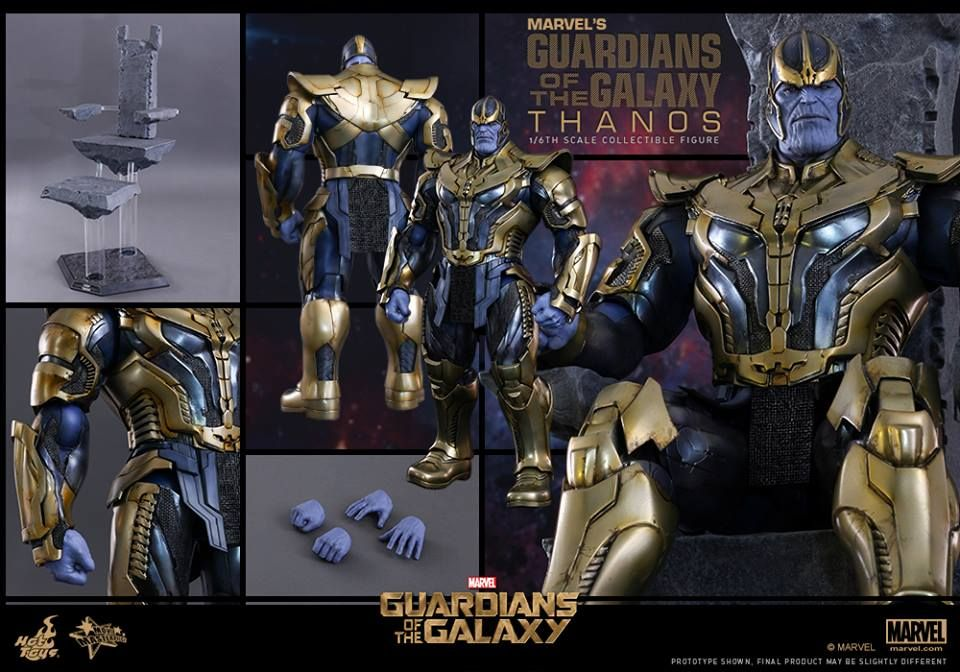 Hot Toys Thanos Guardians of the Galaxy Figure from ...