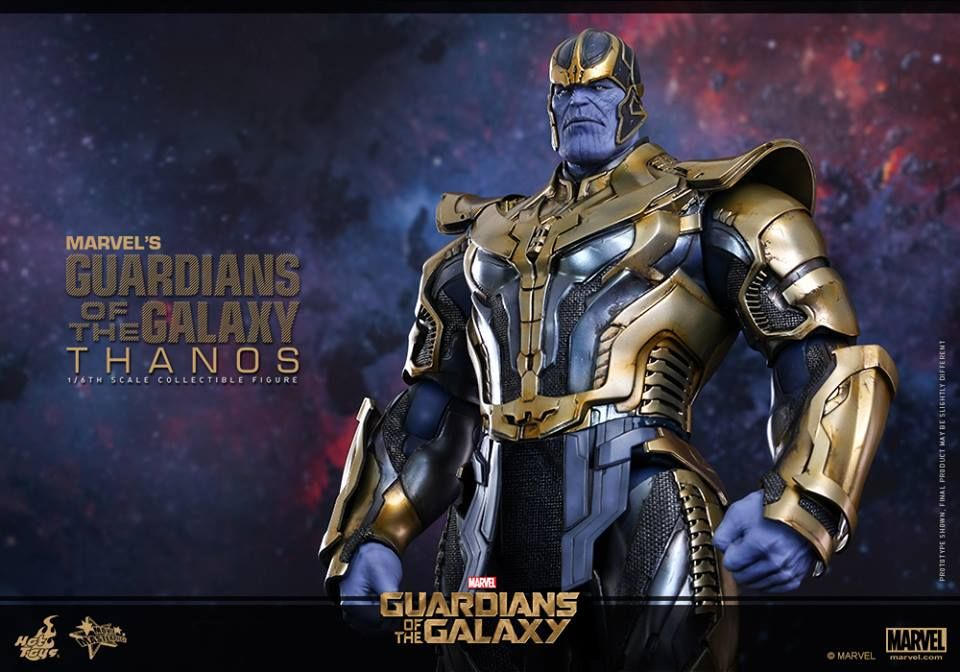 hot toys thanos guardians of the galaxy figure from sideshow collectibles