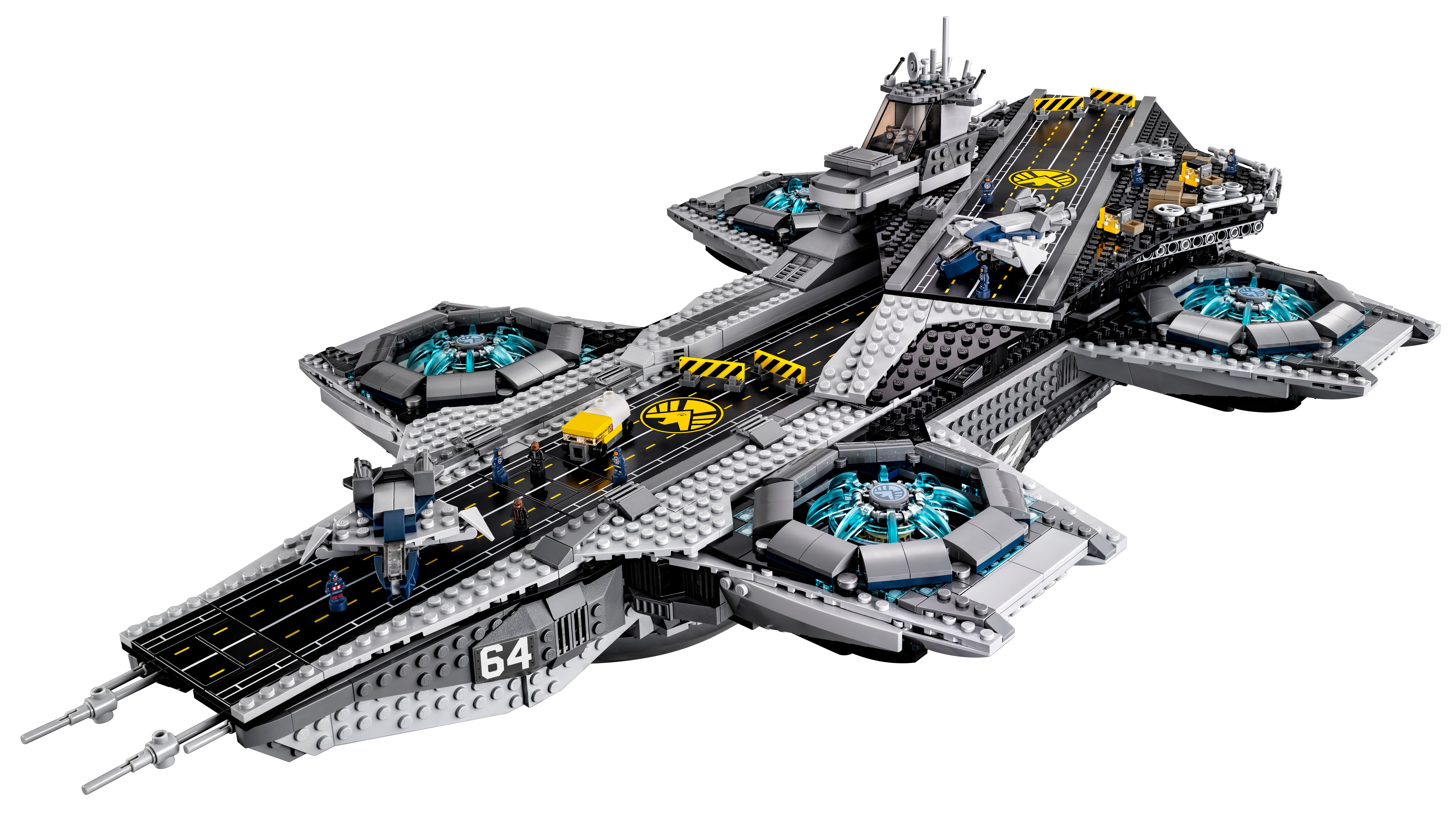 Lego Helicarrier Revealed First Images Of Avengers S H I