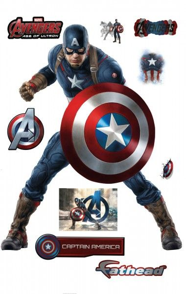 avengers-age-of-ultron-fathead-captain-america