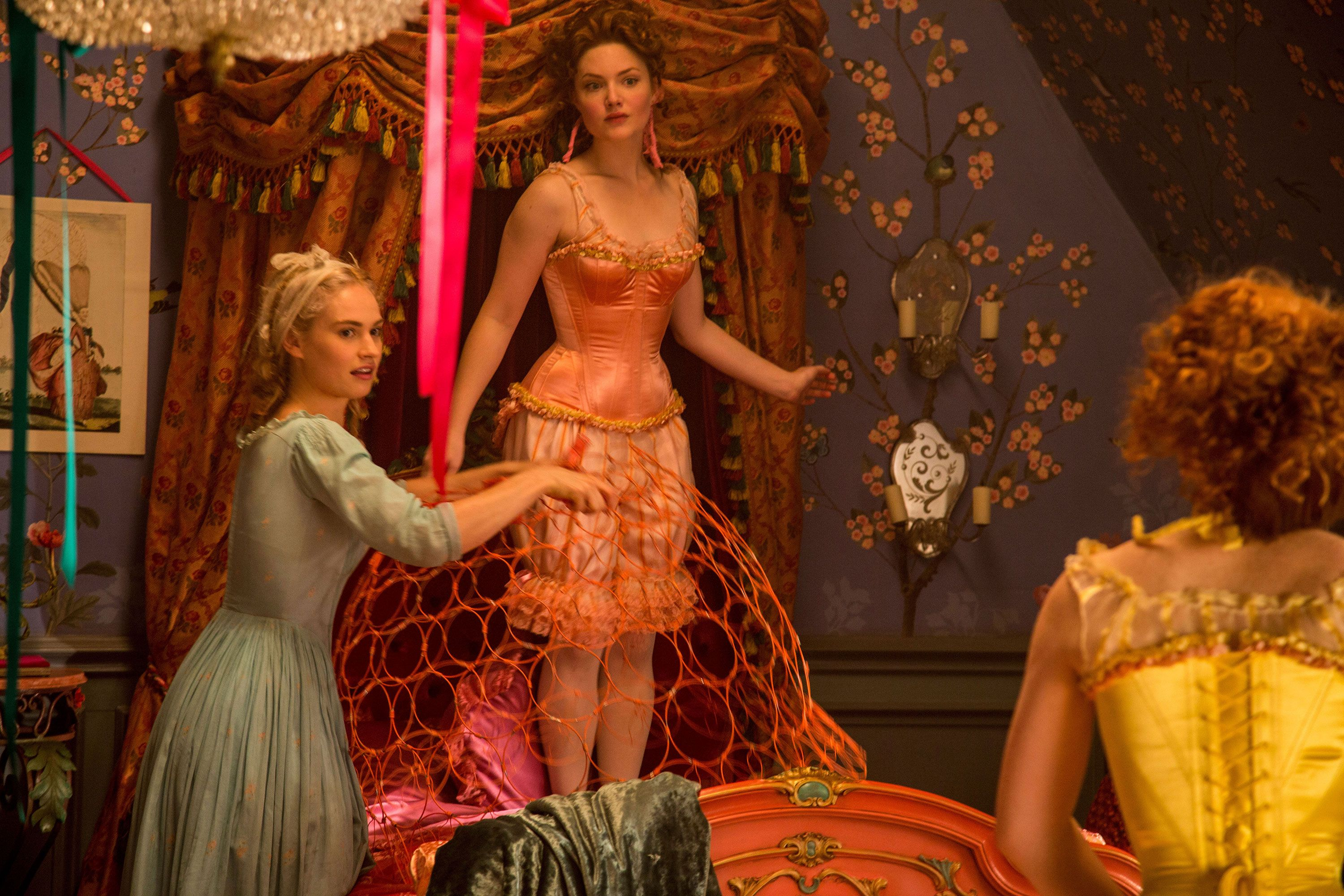 Cinderella Clips Featuring Lily James; Plus Brand New ...