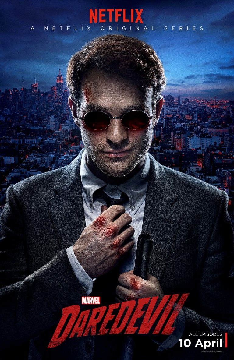 daredevil tv series poster released show is pg 16 says showrunner