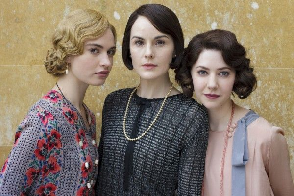 downton-abbey-movie-michelle-dockery-lily-james