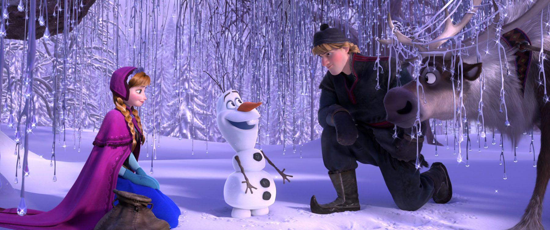 アナと雪の女王雪