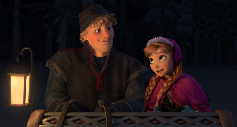 アナと雪の女夜