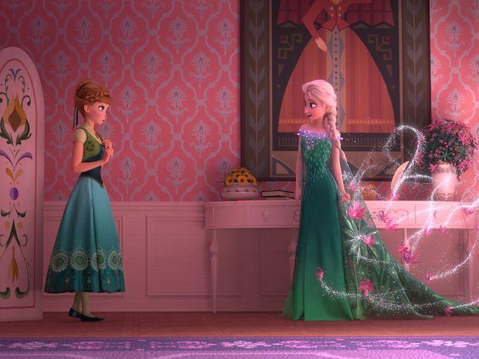 アナと雪の女王シーン