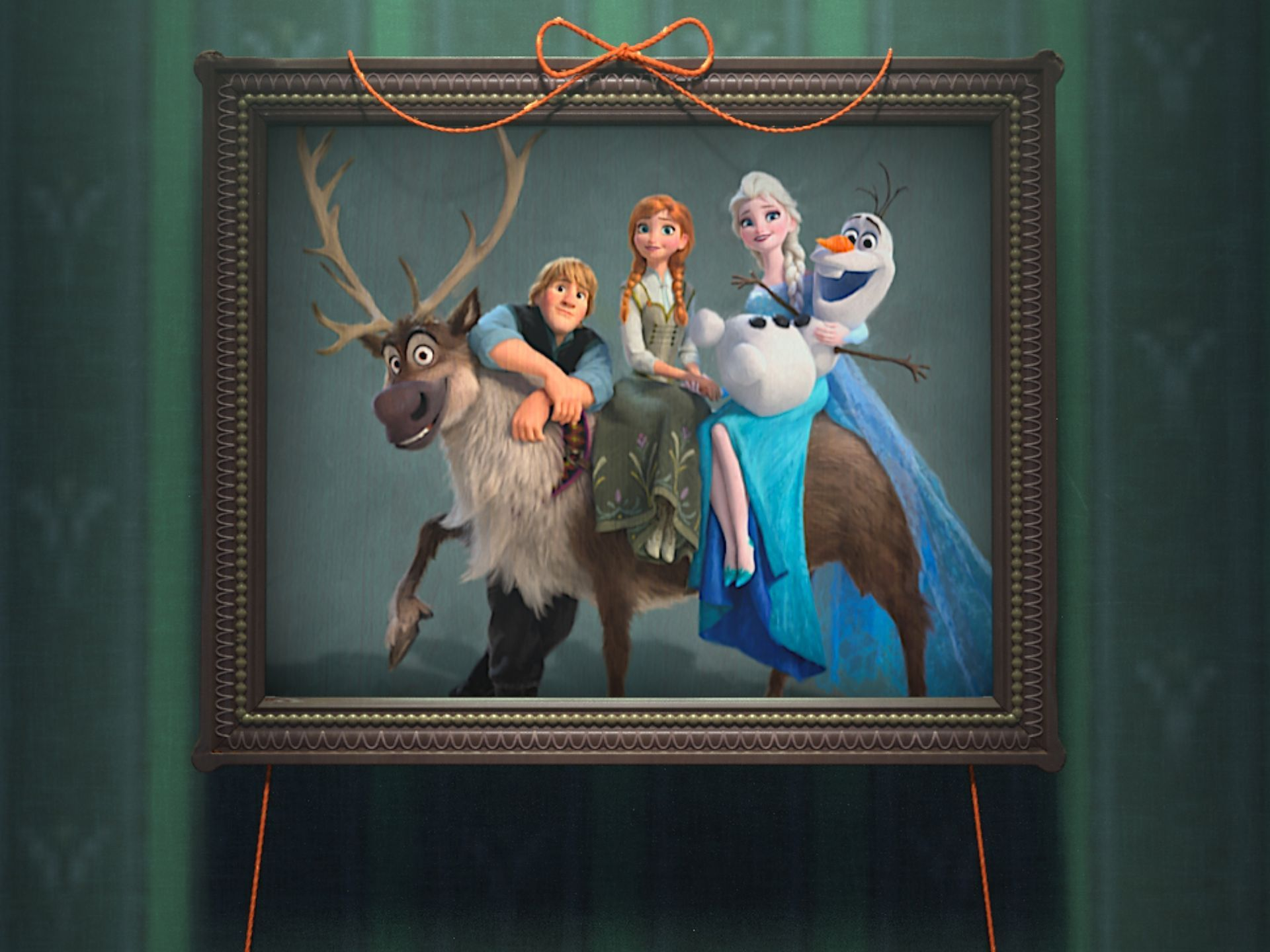 Frozen fever footage brings back elsa anna kristoff - Frozen anna and olaf ...