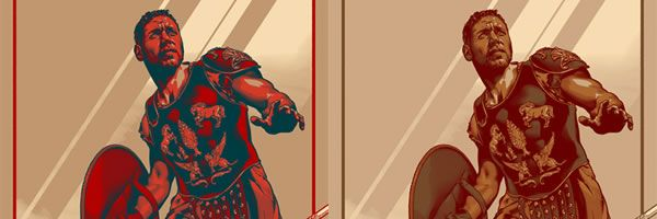 GLADIATOR Mondo Poster Designed by Martin Ansin to Be ...