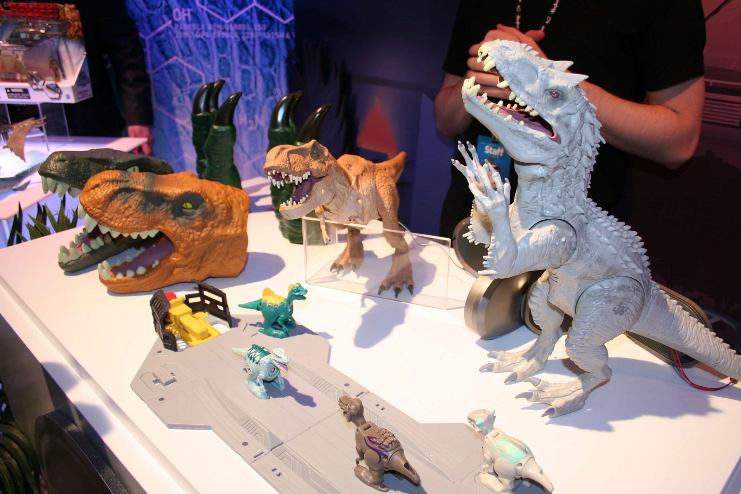Toys From Hasbro : Jurassic world toy images from hasbro at fair